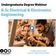 Webinar: B.Sc. Electrical & Electronics Engineering